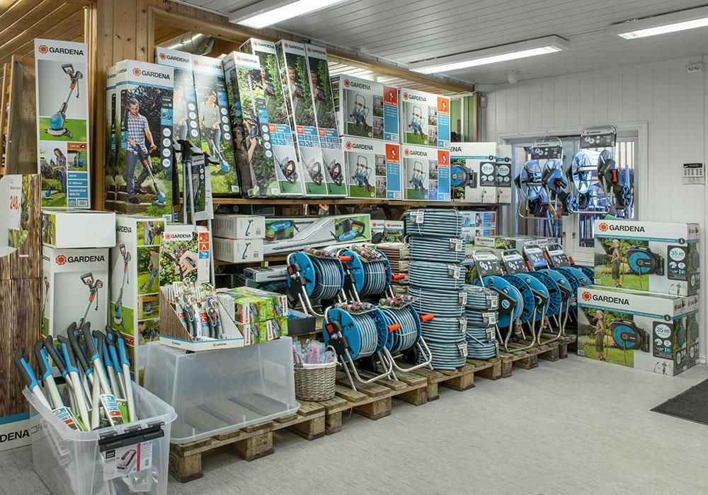 Hus & Hage i Hvittingfoss fører et stort utvalg høytrykksvaskere og sugere